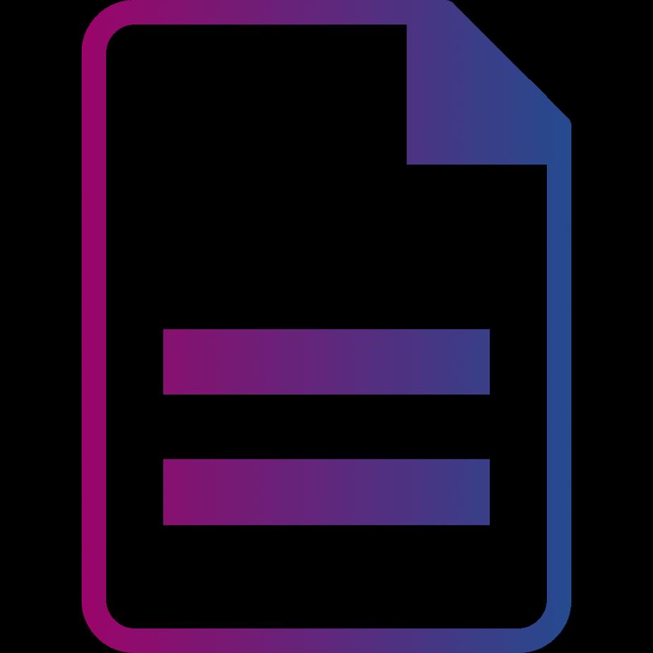 Document gradient
